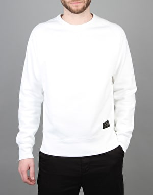 Levi's Skateboarding Crewneck Fleece - Bright White