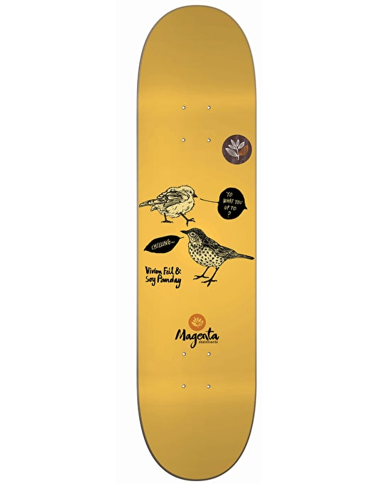 Magenta Feil & Panday Birds Pro Deck - 8.25""