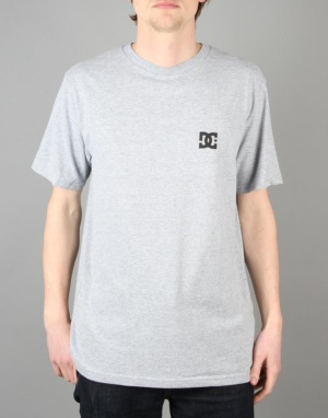 DC Solo Star T-Shirt - Heather Grey