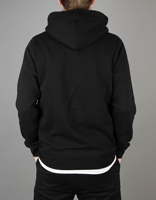 HUF Golden Camo Stripe Box Logo Pullover Hoodie - Black
