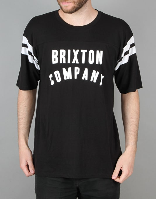 Brixton Barstow Knit T-Shirt - Black