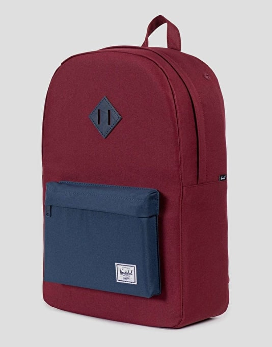 Herschel Supply Co. Heritage Backpack - Windsor Wine/Navy