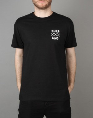 Route One Sentada La Muerte T-Shirt - Black