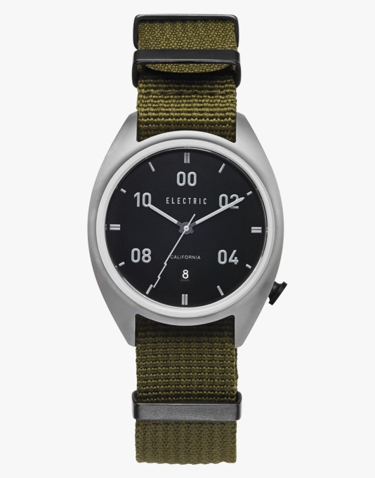 Electric OW01 Watch - Black/Olive