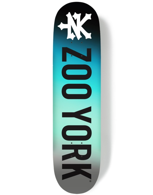 Zoo York Photo Incentive Gradient Ice Team Deck - 8.25""