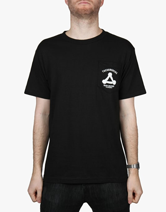 The Hundreds Brand of Brothers T-Shirt - Black