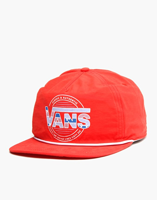 Vans Snap To It Trucker Cap - Crimson