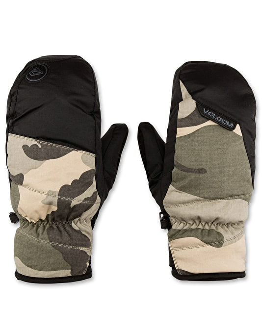 Volcom Stay Dry 2016 Snowboard Mitts - Camouflage