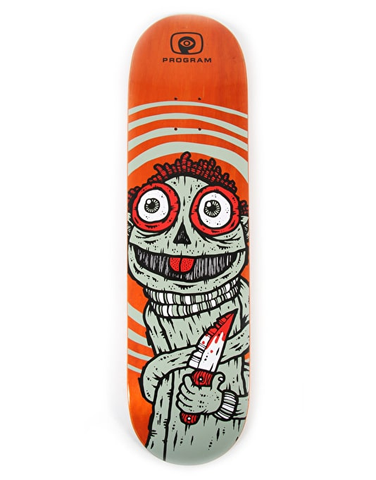 Program Eddie's Knife Team Deck - 8.375""