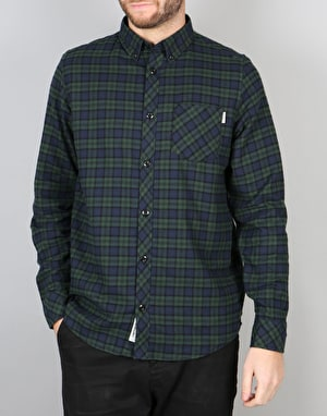 Carhartt L/S Shawn Shirt - Shawn Check Conifer Rinsed