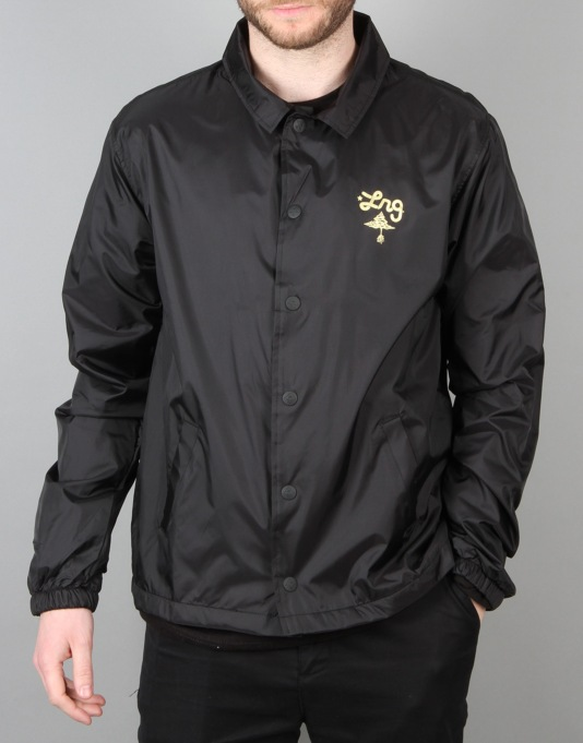 LRG RC Throwback Coach Jacket - Black