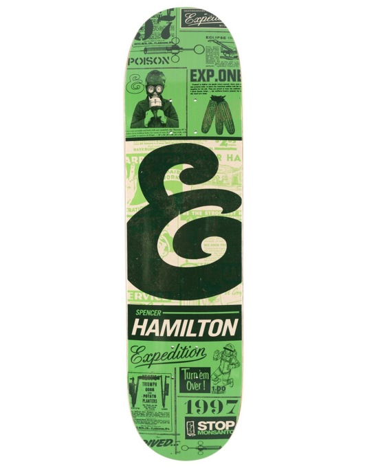 Expedition One Hamilton Classifieds Pro Deck - 8.06""