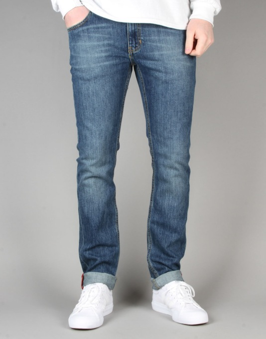 Element Boom Denim Jeans - SB Mid Used