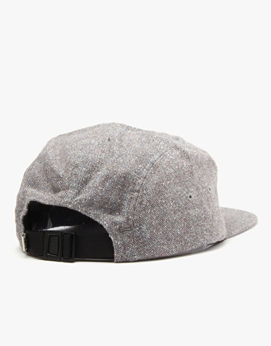 Girl Broadway 5 Panel Cap - Greystone