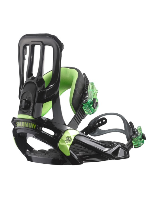 Salomon Rhythm 2016 Snowboard Bindings - Rhythm Black