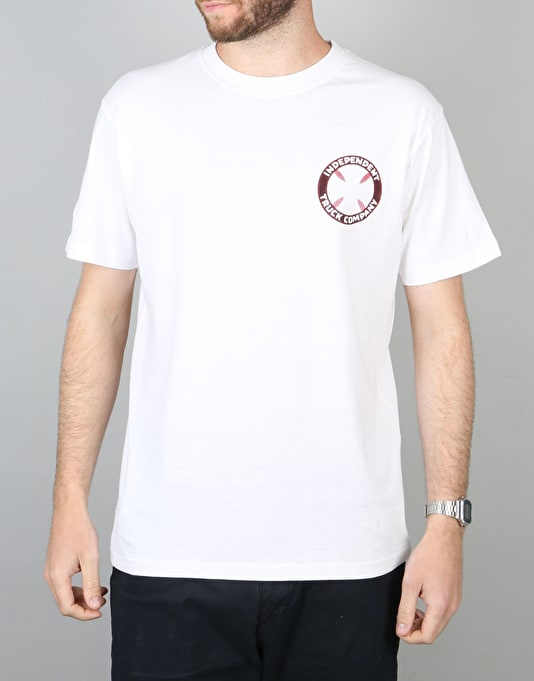 Independent Trip Out Cross T-Shirt - White