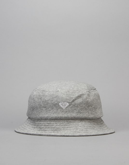 Diamond Supply Co. Pavilion Bucket Hat - Heather Grey