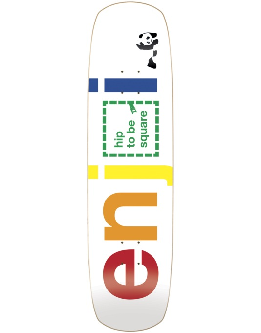 Enjoi Hip to be Square Team Deck - 8.375""