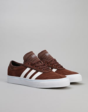 Adidas Adi-Ease Premiere ADV Skate Shoes - Auburn/White/Ice Blue
