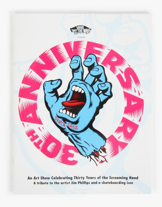 Santa Cruz Screaming Hand 30th Anniversary Art Show Zine