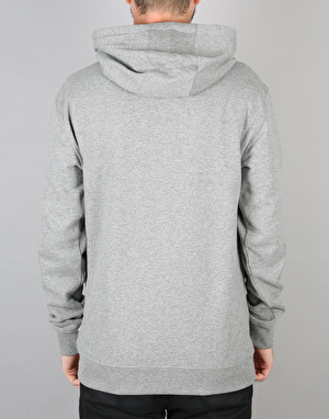 Vans OTW Pullover Fleece Hoodie - Concrete Heather/Dress Blue