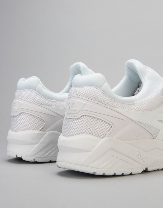 Asics Gel-Kayano Evo Shoes - White/White