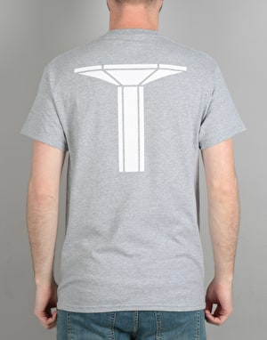 Long Live Southbank Pillar T-Shirt - Charcoal
