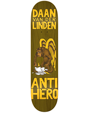 Anti Hero Daan First Round II Pro Deck - 8.06