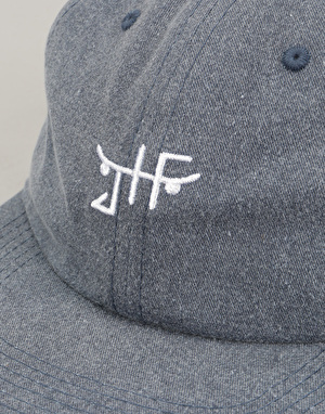 Just Have Fun Unconstructed Strapback Cap - Navy
