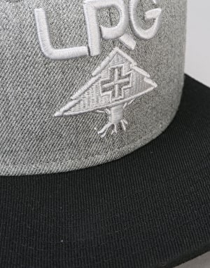 LRG Research Collection Snapback Cap - Ash Heather