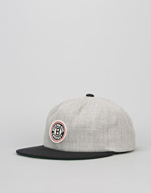 Brixton Louisville Cap - Light Heather Grey/Black