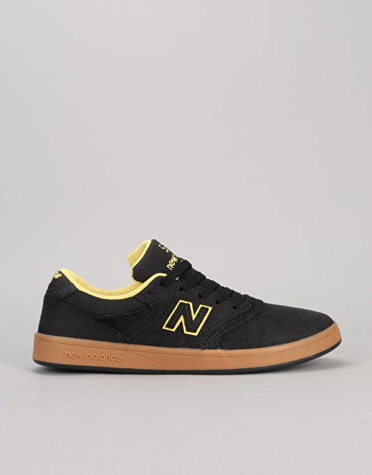 new balance skate shoes. new balance numeric 598 skate shoes - black/gum