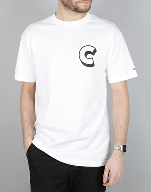 Chrystie C Logo T-Shirt - White