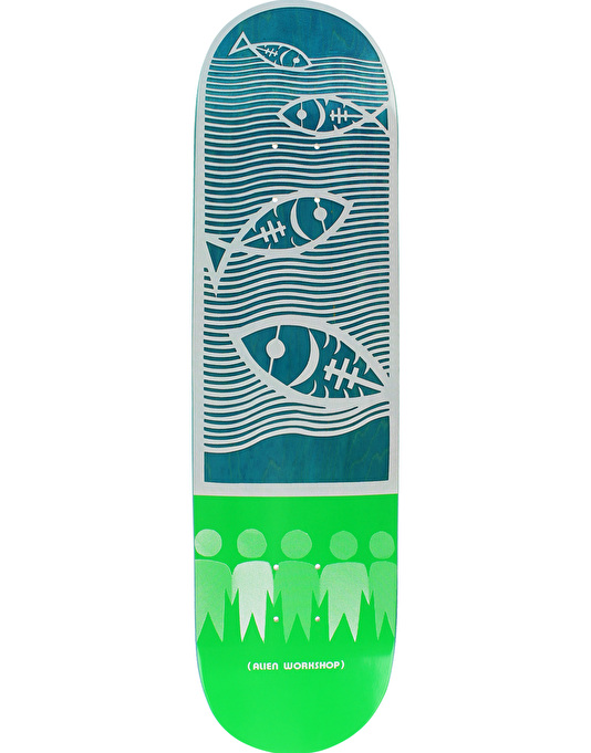 Alien Workshop Papercuts Water Skateboard Deck - 8.25""