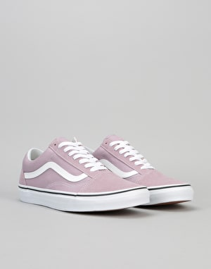 Vans Old Skool Skate Shoes - Sea Fog/True White