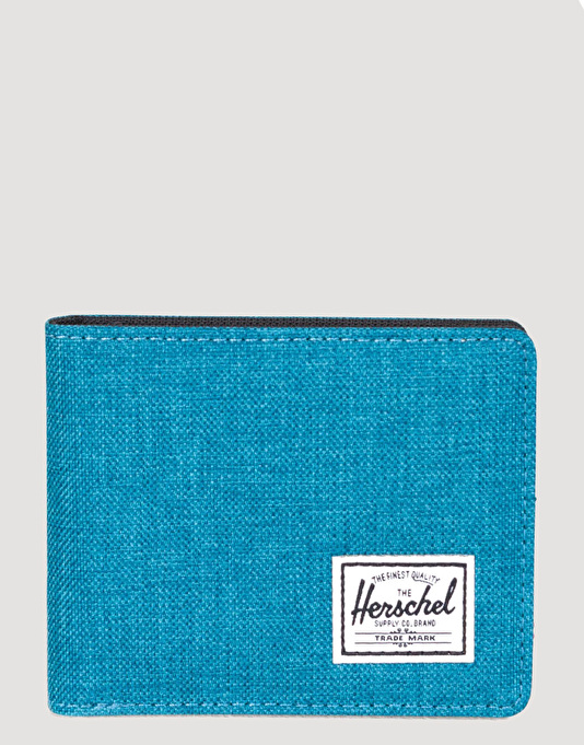 Herschel Supply Co. Roy Wallet - Petrol Crosshatch