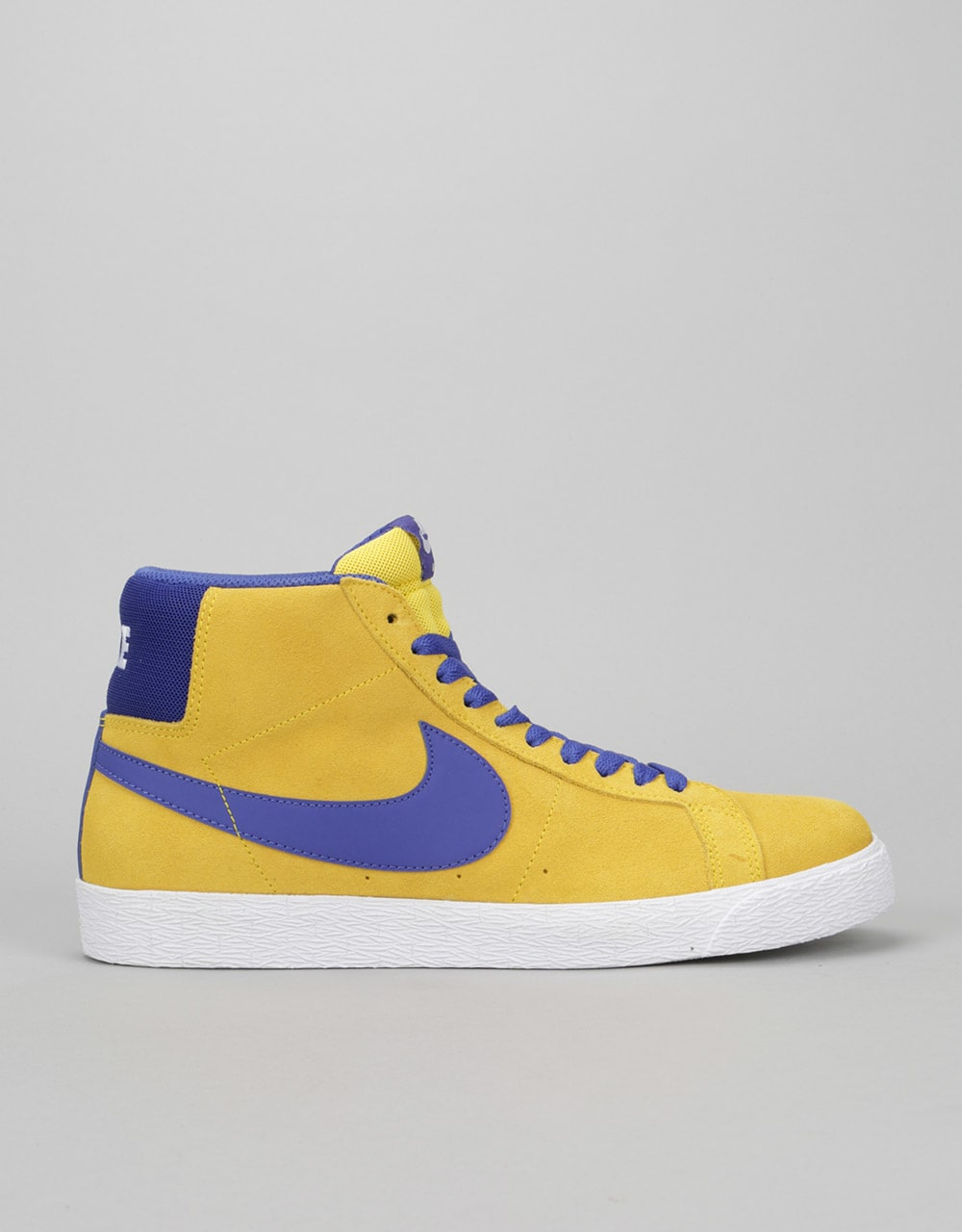online store a96e6 555a4 clearance nike sb blazer mid skate shoes tour yellow deep night white mens  mid top skate