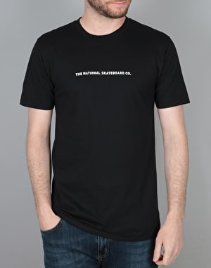The National Skateboard Co. Action T-Shirt - Black