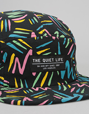 The Quiet Life Ziggity 5 Panel Cap - Multi All Over