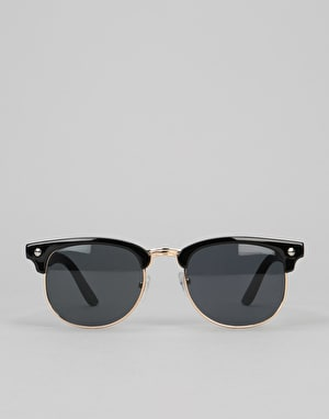 Glassy Morrison Sunglasses - Black/Gold