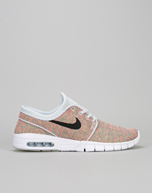 Nike SB Stefan Janoski Max Shoes - Volt/Photo Blue-Racer Pink