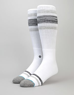 Stance Hightail Classic Crew Socks - White