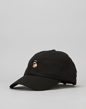 40's & Shorties Eazy Unstructured Strapback Cap - Black