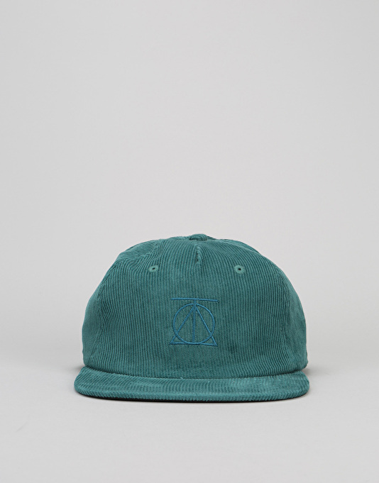 Theories Crest Snapback Cap - Dark Teal