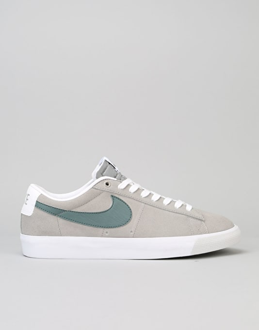 Nike SB Blazer Low GT Skate Shoes - Dust/Hasta-White-Pure-Platinum