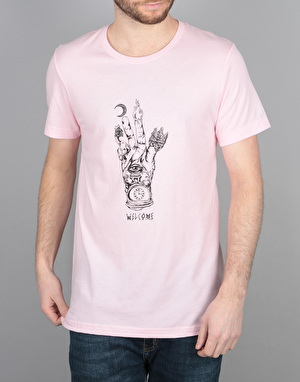 Welcome Philosopher's Hand T-Shirt - Pink