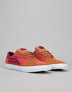 Lakai Pico Skate Shoes - Tobacco Suede
