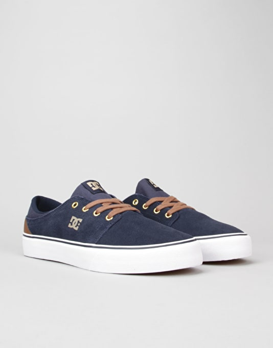 DC Trase SD Skate Shoes - Navy/Khaki
