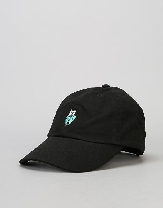 RIPNDIP Nermal Leaf Dad Cap - Black