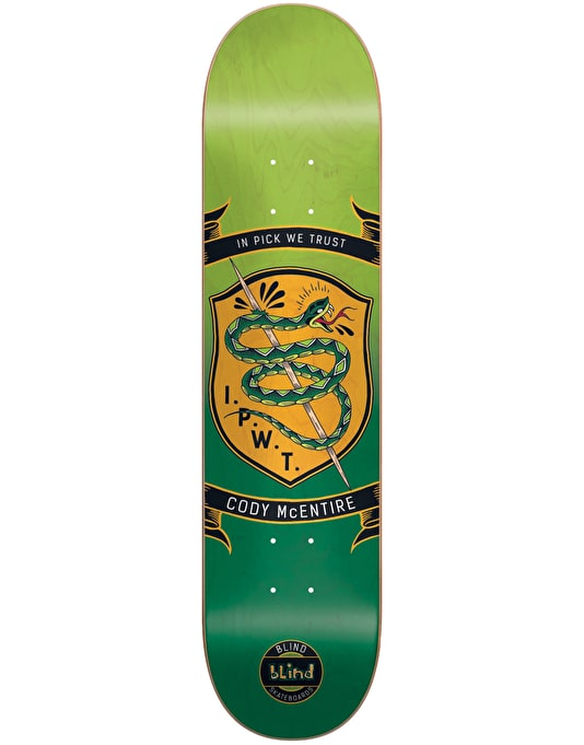 Blind McEntire Badge Series Pro Deck - 8""